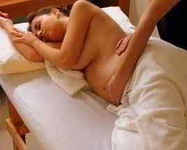 masaje embarazo